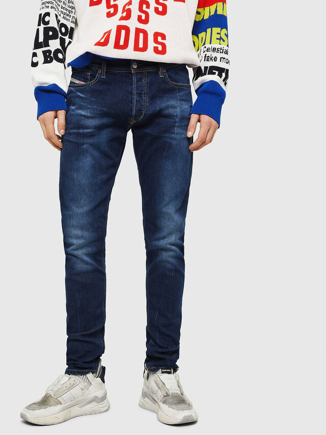 Diesel - Tepphar 083AT, Dark Blue - Jeans - Image 1