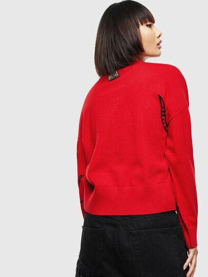 Diesel - CL-M-TESS, Red - Knitwear - Image 2