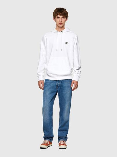 Diesel - S-GIRK-HOOD-K21, White - Sweaters - Image 4