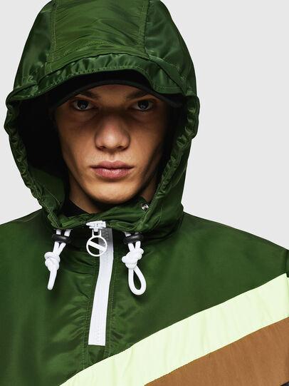 Diesel - J-ANTY, Green/Black - Jackets - Image 4