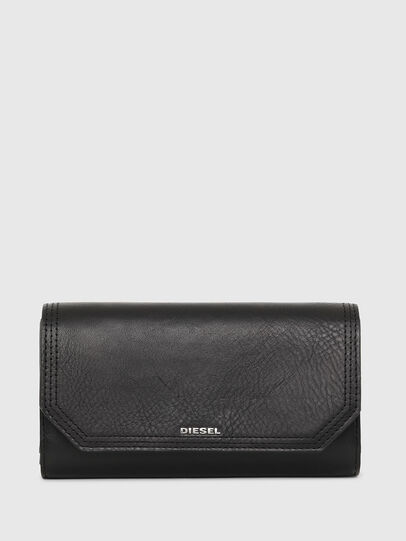 Diesel - GIPSI LC, Black - Small Wallets - Image 1