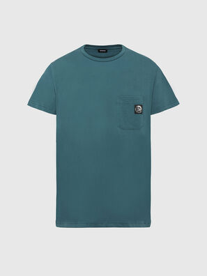 T-WORKY-MOHI, Water Green - T-Shirts