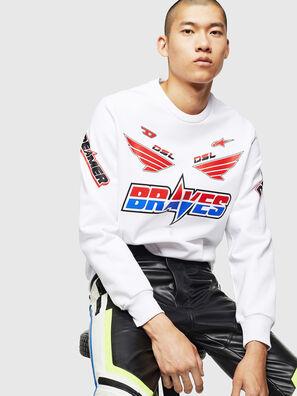ASTARS-S-GIR-A, White - Sweaters