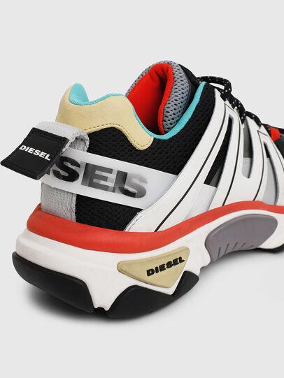 Diesel - S-KIPPER LOW TREK, White/Black - Sneakers - Image 7
