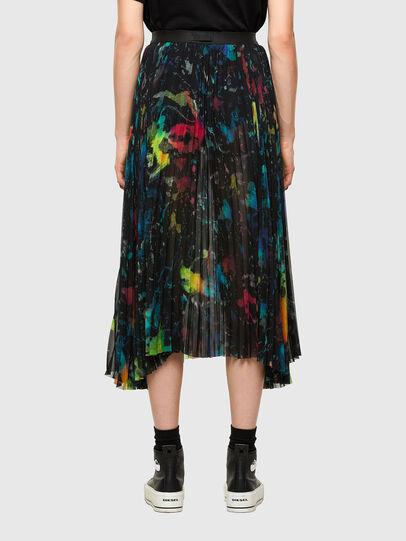 Diesel - O-SHEER, Black - Skirts - Image 2