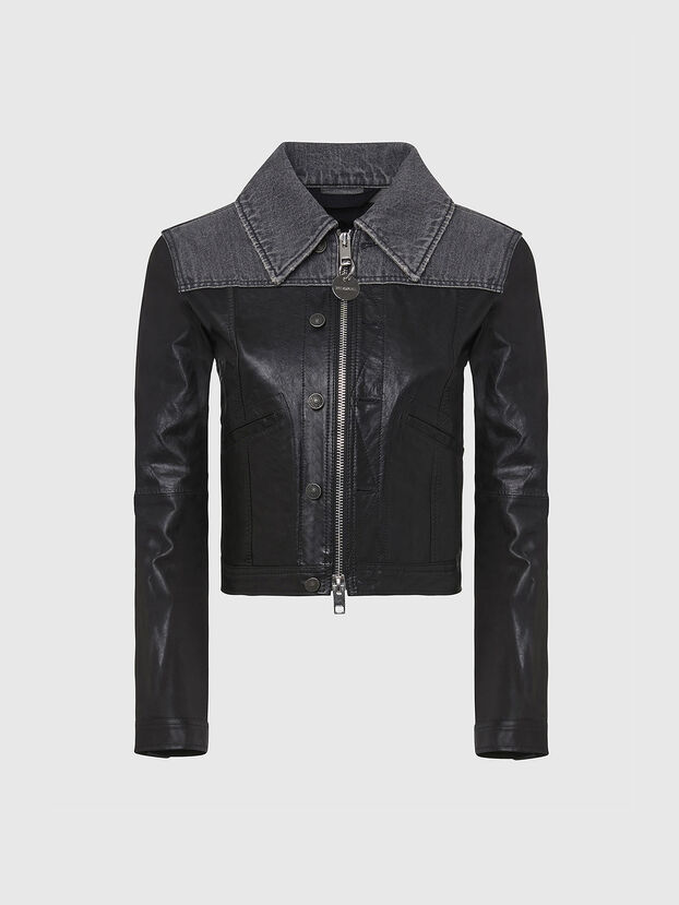 L-LYLE, Black - Leather jackets