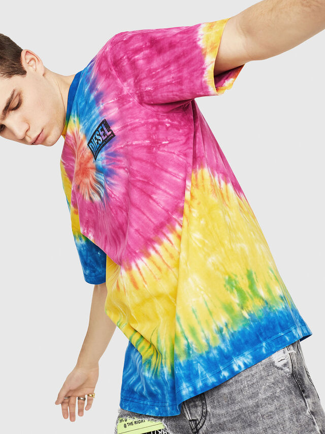 Diesel - DXF-T-JUST-1, Multicolor - T-Shirts - Image 4