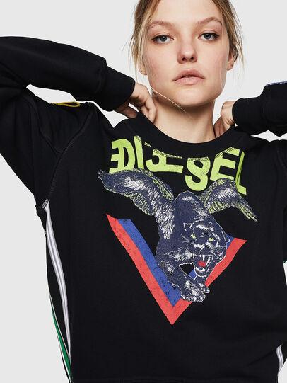 Diesel - F-LYANYDY, Black - Sweaters - Image 4