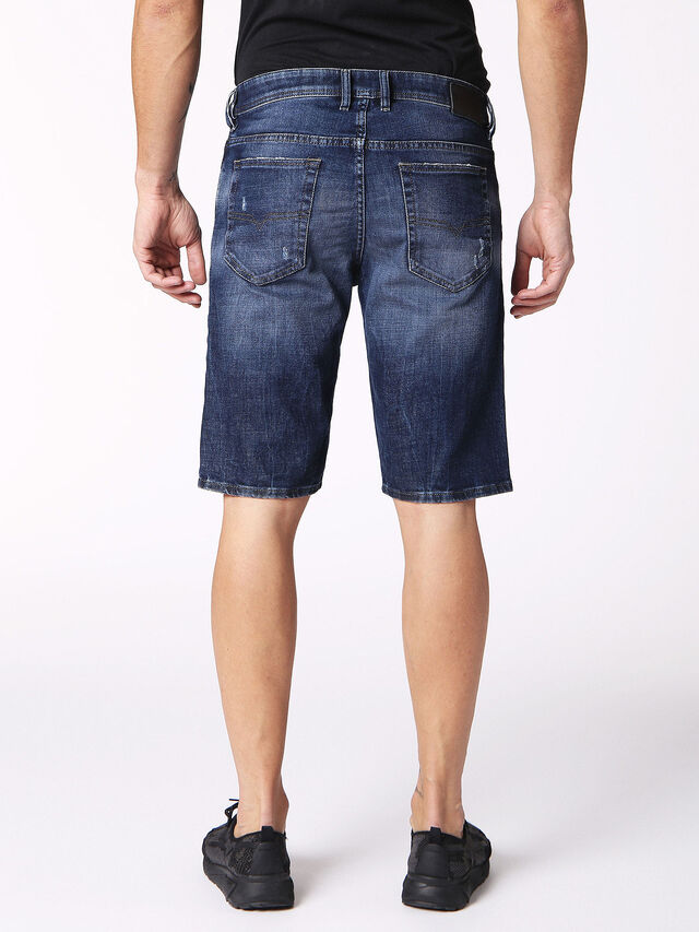 Diesel - THOSHORT, Blue Jeans - Shorts - Image 2
