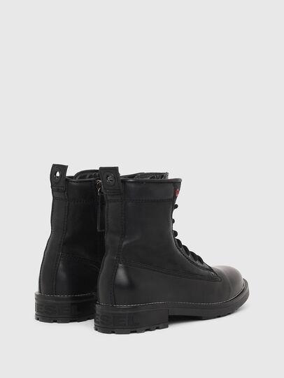 Diesel - D-THROUPER DBB W Z, Black - Ankle Boots - Image 3