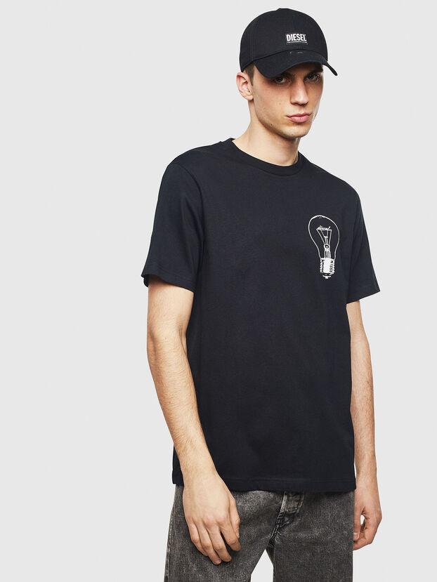 T-JUST-T22, Black - T-Shirts