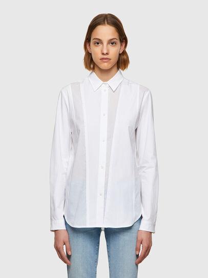 Diesel - C-VOILE, White - Shirts - Image 1