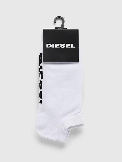 Diesel - SKM-GOST, White - Low-cut socks - Image 2