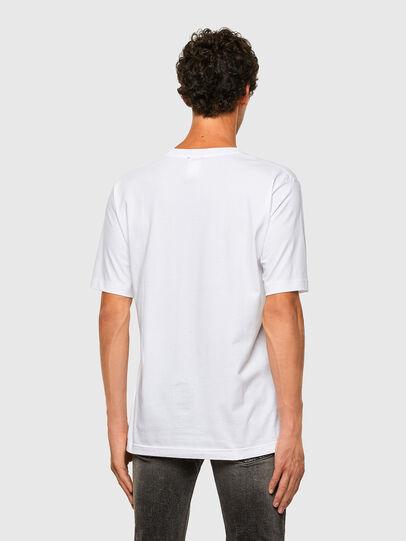 Diesel - T-TUBOLAR-N1, White - T-Shirts - Image 2