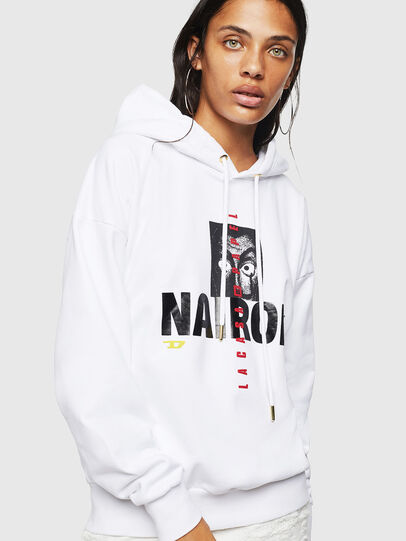 Diesel - LCP-S-ALBY-NAIROBI, White - Sweaters - Image 2