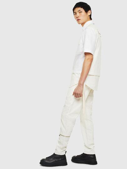 Diesel - P-ARMY, White - Pants - Image 7
