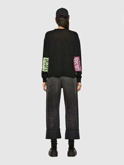 Diesel - M-PALMER, Black - Knitwear - Image 7