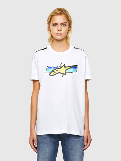 Diesel - ASTARS-T-DIEGOS-B-FL, White - T-Shirts - Image 1