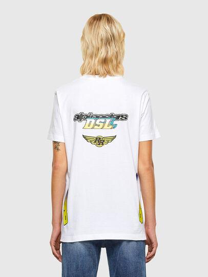 Diesel - ASTARS-T-DIEGOS-B-FL, White - T-Shirts - Image 2