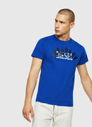 T-DIEGO-A10, Brilliant Blue - T-Shirts