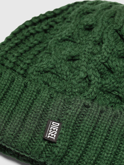 Diesel - K-KONEX, Dark Green - Knit caps - Image 3