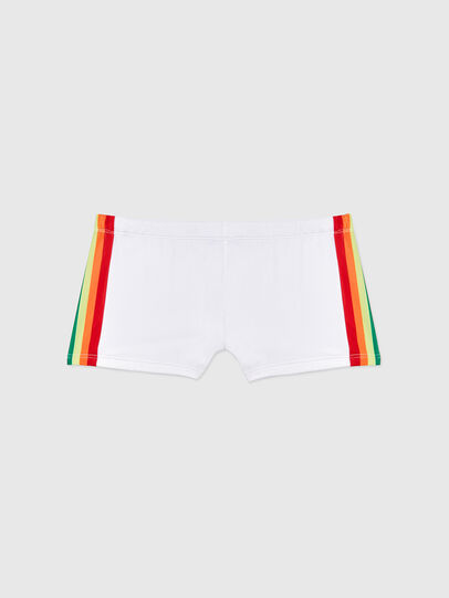 Diesel - BMBX-HERO-P, White - Swim trunks - Image 1