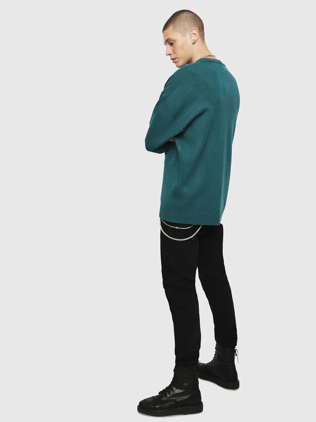 Diesel K-LOGOX, Water Green - Knitwear - Image 2