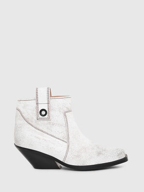 D-GIUDECCA MAB, White - Ankle Boots