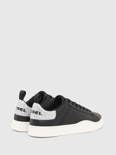 Diesel - S-CLEVER LOW LACE W, Black/Silver - Sneakers - Image 3
