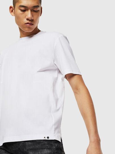 Diesel - T-TOMI, White - T-Shirts - Image 4