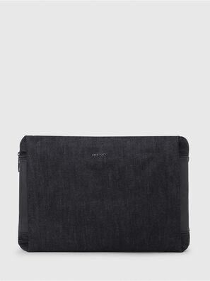 D-SUBTORYAL CLUTCH, Blue Jeans - Clutches