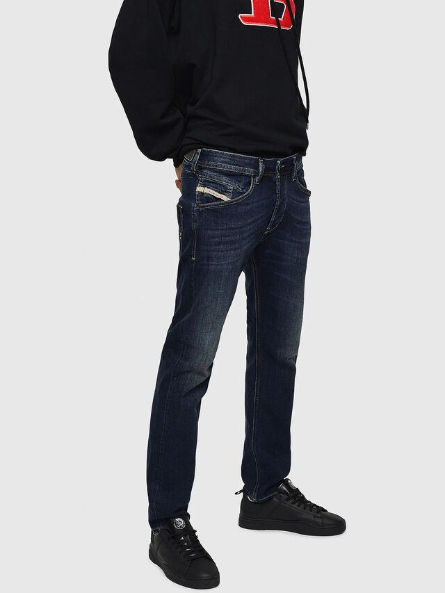 Diesel - Belther 0814W, Dark Blue - Jeans - Image 3