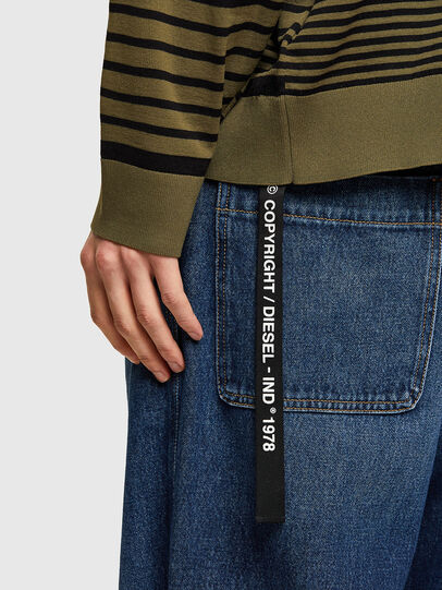 Diesel - K-BALTIC, Blue/Green - Knitwear - Image 4