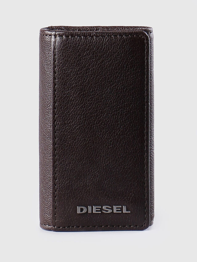 Diesel - KEYCASE O, Brown - Bijoux and Gadgets - Image 1