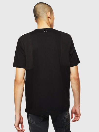 Diesel - T-TOMI, Black - T-Shirts - Image 2