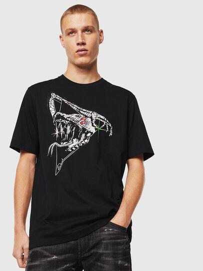 Diesel - T-JUST-J15, Black - T-Shirts - Image 1