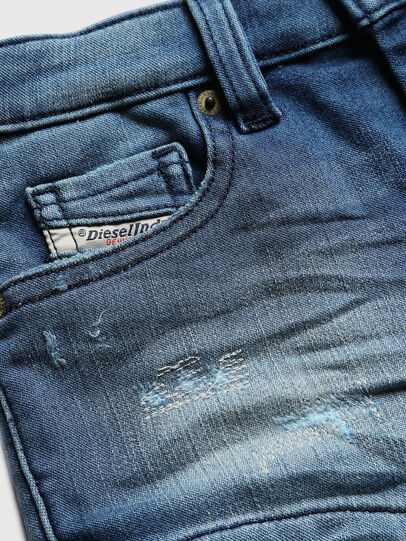 Diesel - PGINGHER JOGGJEANS, Medium blue - Shorts - Image 3
