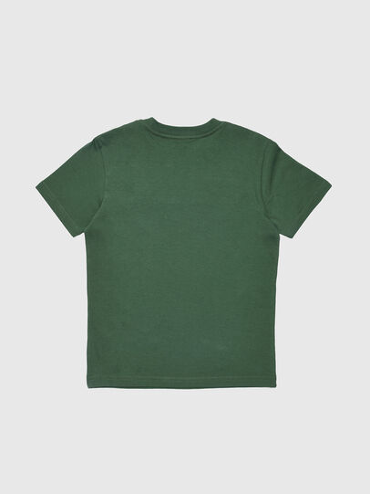 Diesel - TJUSTDIVISION, Bottle Green - T-shirts and Tops - Image 2