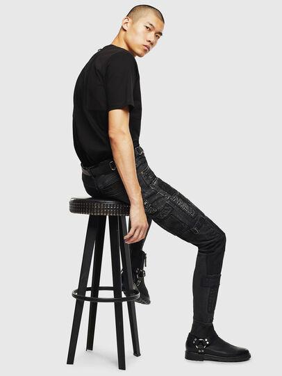 Diesel - T-TOMI, Black - T-Shirts - Image 6