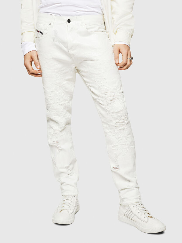 Mharky 069GY, White - Jeans