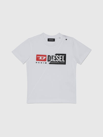 Diesel - TDIEGOCUTYB, White - T-shirts and Tops - Image 1