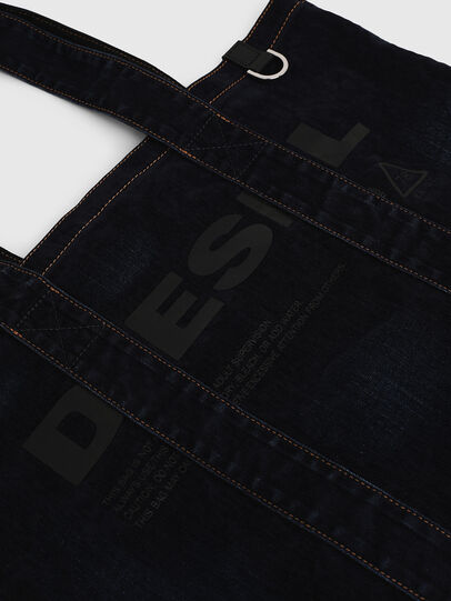Diesel - F-THISBAG SHOPPER NS, Dark Blue - Shopping and Shoulder Bags - Image 4