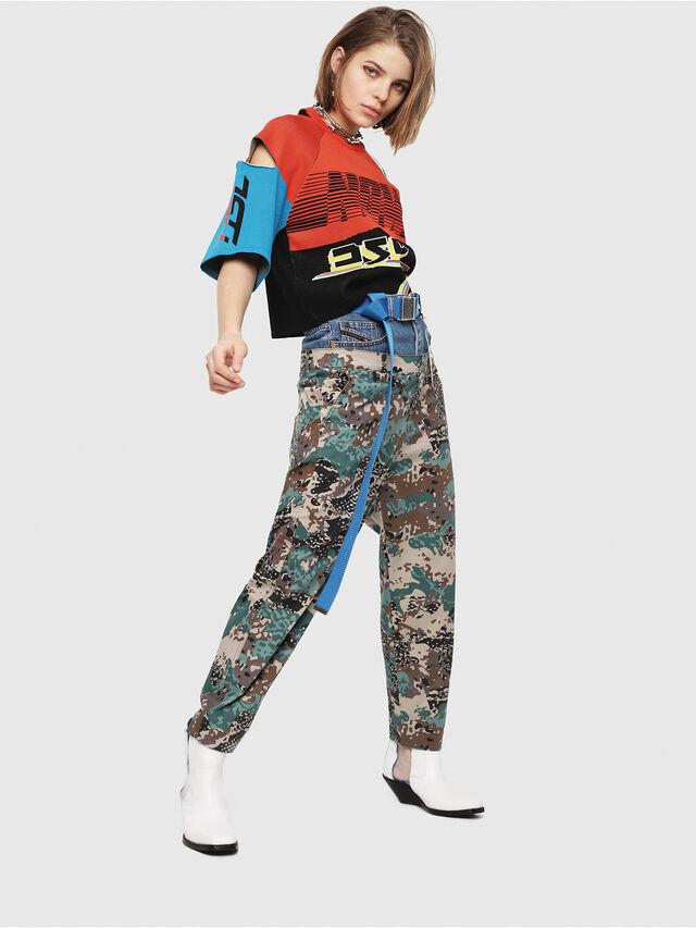 Diesel - M-DOIT, Multicolor - Knitwear - Image 5