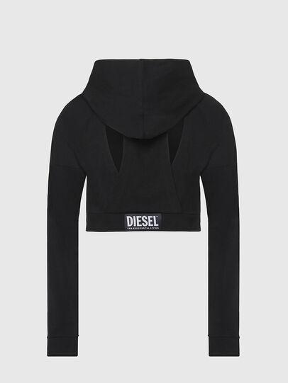 Diesel - UFLT-ANGHEL, Black - Sweaters - Image 2