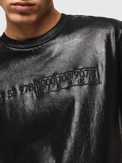 Diesel - T-JUST-J1, Black - T-Shirts - Image 5