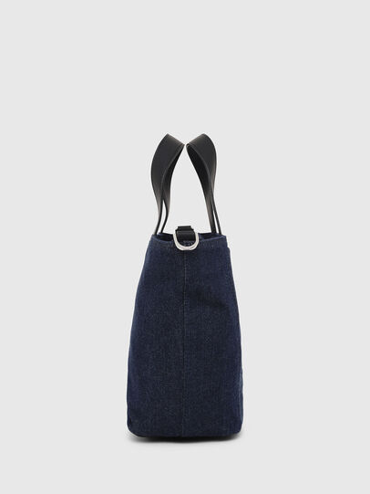 Diesel - PUMPKIE, Dark Blue - Satchels and Handbags - Image 3