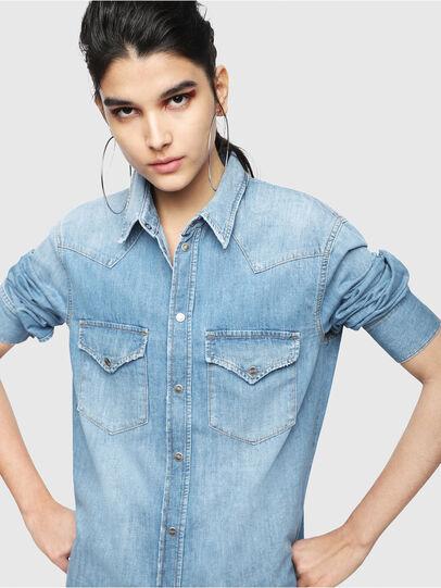 Diesel - DE-BLANCHE, Blue Jeans - Dresses - Image 3