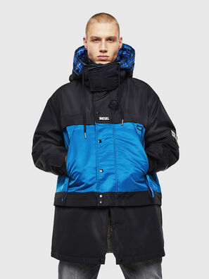 W-HELBERT, Black/Blue - Winter Jackets