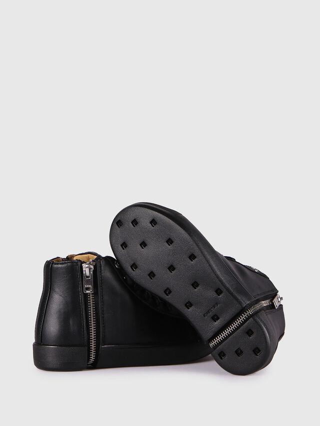 Diesel - SN MID 24 NETISH YO, Black - Footwear - Image 4