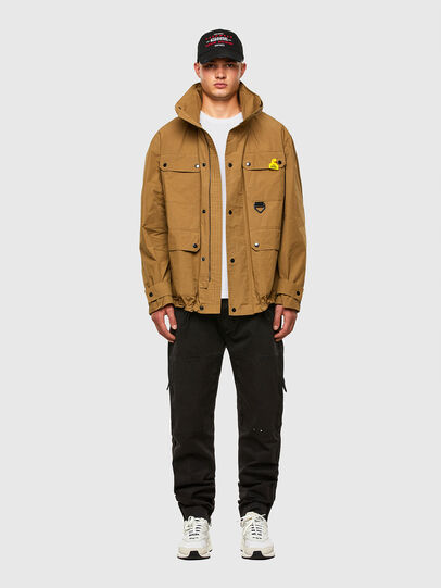 Diesel - J-AHKEE, Light Brown - Jackets - Image 1